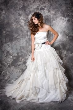 """Felicita Design. Brautkleid """"Alda"""" Seide 100% Brautmode, Hochzeit"""
