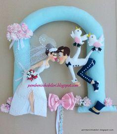 Guirlanda recém casados