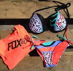 Fox racing bikini