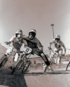"The Master of the ""Full Pull"" and the originator of the term ""Pull"" Mr. Cecil Johns. Cecil is a @usabmx Hall of Famer and loved bermwarfare when he raced in the top Am and Pro ranks! #tbt"