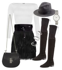 """""""Sans titre #2283"""" by christina95styles ❤ liked on Polyvore featuring WearAll, Alice + Olivia, Isabel Marant, Chloé, Stuart Weitzman, Dsquared2, Miss Selfridge and FOSSIL"""