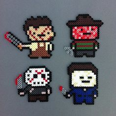 perler hama horror patterns - Google Search