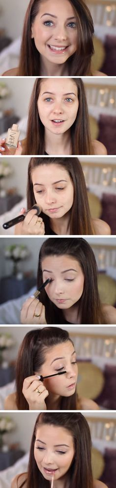 Fresh Faced Look   Fresh Spring Makeup Looks for Brown Eyes   Easy Easter Makeup Looks for Blue Eyes