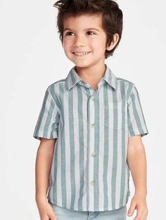 Old Navy Toddlers' Striped Oxford Shirt Oceanside Size Boys Summer Outfits, Little Boy Outfits, Toddler Boy Outfits, Preppy Outfits, Toddler Boys, Little Boys, Kids Outfits, Summer Clothes, Preppy Kids