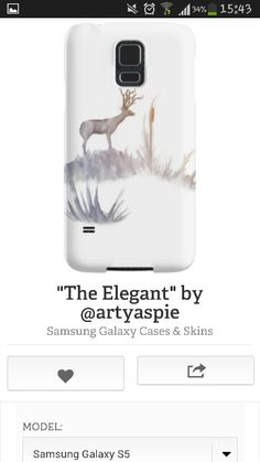 Beautiful deer mobile phonr cover #samsung #iphone #mobilecovers