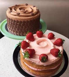 Image in Delicious collection by Ellinor on We Heart It Cute Desserts, Delicious Desserts, Dessert Recipes, Good Food, Yummy Food, Festa Party, Bakery Cafe, Cafe Food, Aesthetic Food