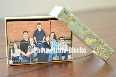 Photo blocks - 6 different pics