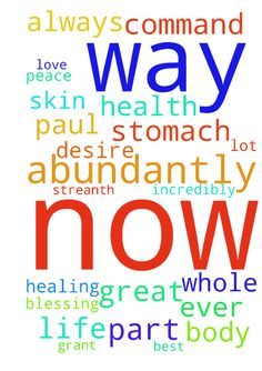 totally complet healing in my stomach everypart of me now in jesus namess -  urgent please all pray I command and declare total complete healing in my stomach whole health body hair beauty skin every part of me now abundantly speedly now in jesus name lord jesus forgive me for all things every skin lord fill me flood me overwhelm me with your healing love light peace joy happiness beauty light abundantly grant me total peace that passes all human understanding in my mind thoughts whole body…