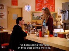 Awww. Dale Cooper and Annie Blackburn. Twin Peaks