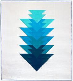 Arrowhead Quilt PDF Pattern — Initial K Studio