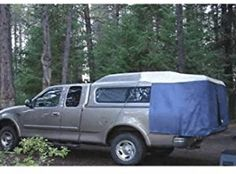 Full Size SUV Camper Top Tent - - Full Size SUV Camper Top Tent - Dac-Full Camper Top Tents fit some SUVs, sport utility vehicles, and trucks with camper shells, or caps, with a Truck Tent Camping, Truck Bed Tent, Tailgate Tent, Suv Tent, Camping Gear, Camping Life, Glamping, Camping Table, Camping Stuff