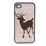 Hjorte mønster  Hard cover til iPhone 4 og 4S... – DKK kr. 19