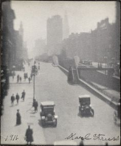 Madison Ave., NYC, South from Grand Central Karl Struss (United States, 1886-1981) United States, 1911 Photographs Platinum printCollections