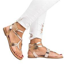 d18d405245 Shoes woman 2018 summer beach PU Leather sandals platform ladies casual  shoes woman plus size flip flop zapatos mujer