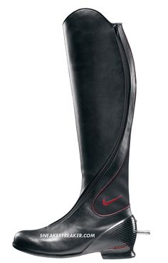 I still want these Nike equestrian boots...complete with the interchangeable spur.