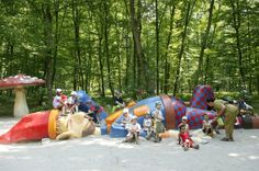 A fairly tale park in Luxembourg