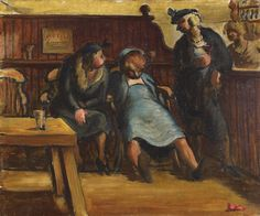 Edward Ardizzone - 'The Drunks'