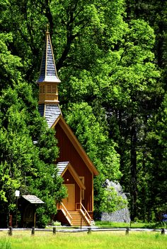 Church, Yosemite - My parents were married in a little church in Yosemite. Wonder if tis is it?