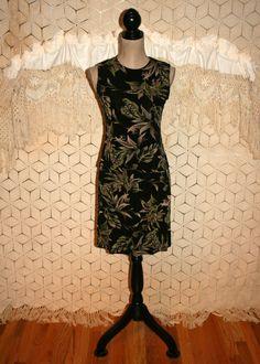 80s Tank Dress Fitted Skirt Set Summer Dress by MagpieandOtis
