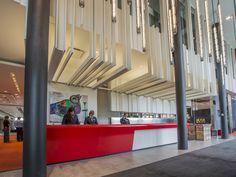 LEMAYMICHAUD | Design | Architecture | Interior Design | La Ferme | Hotel | Charlevoix | Le Massif | Hospitality | Entry | Reception | Desk | Welcome | Lobby |