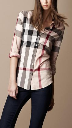 Burberry Brit Nova Check Shirt!