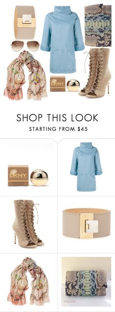 """""""Untitled #109"""" by lepuzzle ❤ liked on Polyvore featuring Donna Karan, Chloé, Balmain, Balenciaga and Etro"""