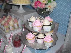 "Photo 1 of 13: Vintage shabby chic tea party / Birthday ""Vintage Tea, I'm 3!"" | Catch My Party"