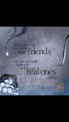 Real friends at sad times!