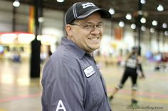 Who's the best roller derby coach in the world? Yup, our own Arnold Sportsenburger! #bathcityrollergirls #coach #rollerderby