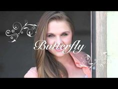 Lizzie Sider - Butterfly (official lyric video) Girl Boards, Bluegrass Music, Butterfly Kisses, School Counseling, Fashion Quotes, Country Music, Role Models, Bullying, Random Things