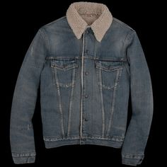 Levi's Vintage Clothing Type III Sherpa Jacket, $480. | 29 Winter Coats For Budget Conscious Dudes