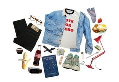 """""""pedro the lion"""" by kampow ❤ liked on Polyvore featuring Cheap Monday, Chanel, Converse, François Pinton, Anglepoise, Paul Smith, Hanley and Jonas Damon"""