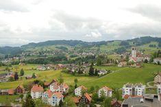 Orașul Speicher în cantonul Appenzell Ausserrhoden din Elveția