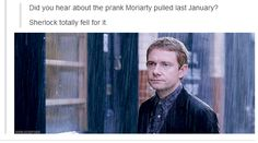 Moffat, we all know that you pose as a Sherlockian on Tumblr just to kill our feels. Don't act lik it isn't obvIOUs.