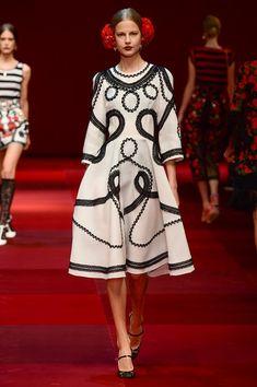 Elisabeth Erm, Dolce & Gabbana, Milan S/S 2015