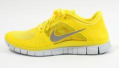 Nike Free Run  3 Chrome Yellow / Reflect Silver