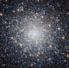 Фотография шарового скопления Мессье 92