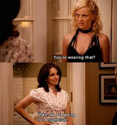 The moment you realize you are Tina Fey