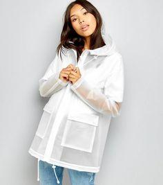 Tall - Anorak blanc transparent | New Look
