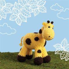 Ellie the Giraffe - Crochet Me