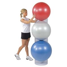 Fitness Gym Ball Racks    Ball Storage Stackers