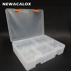 Multi Tiered Toolbox Water Proof Engineering Plastic Tool Box For Electronic Components SMD SMT Screw Screwdriver Storage Case
