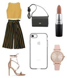 """Untitled #13"" by laura1298 on Polyvore featuring Kate Spade, MAC Cosmetics and Vivani"
