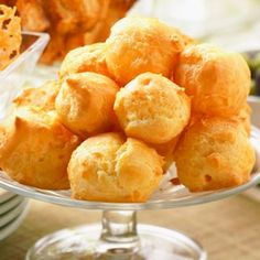 CHEESE PUFF APPETIZERS-I will be making this on the weekend!