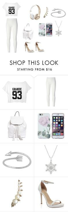 """""""White-ish"""" by jaden-norman ❤ liked on Polyvore featuring Rick Owens Lilies, Rebecca Minkoff and Annoushka"""