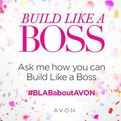There's never been a better time to join Avon. Earn extra money and get a discount too. Ask me how you can become your own boss today. Be The Boss, Be Your Own Boss, Avon Online, Avon Representative, Shops, Skin So Soft, Cool Names, Extra Money, Along The Way