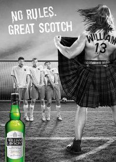 William Lawson's ad.