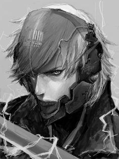 """Raiden (Metal Gear Solid 4) """"I am lightning. The rain transformed."""""""