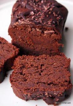saftiger Mandelmus-Schoko-Kuchen