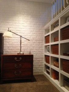 Our blog details the renovation of David's San Francisco bedroom using our faux brick siding panels to recreate  a classic look.